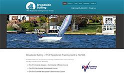 Broadside Sailing, Norfolk - RYA Registered Training Centre