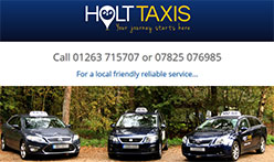 Holt Taxis, Norfolk