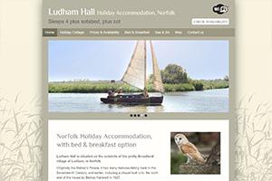 Ludham Hall Holiday Accommodation, Norfolk