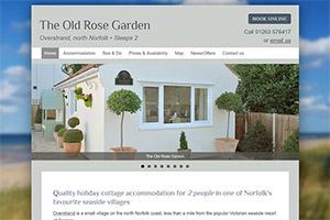 Old Rose Garden Holiday Accommodation, Overstrand, north Norfolk
