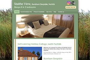 Staithe View Holiday Cottage, Burnham Deepdale, Norfolk