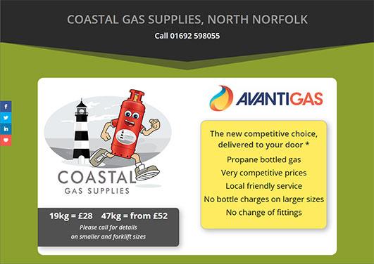 Coastal Gas Supplies, Norfolk